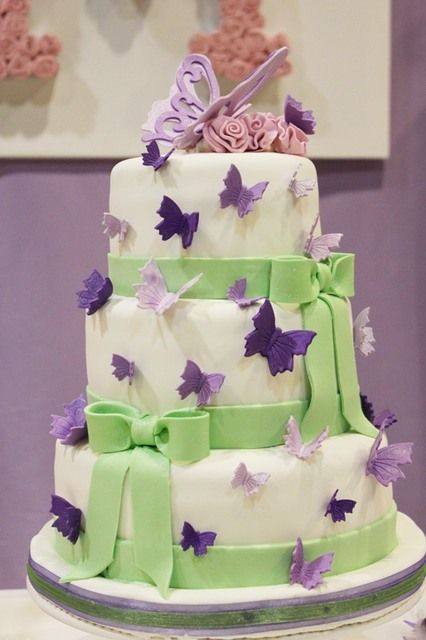 Most Beautiful Purple Butterfly Birthday Cakes Ever