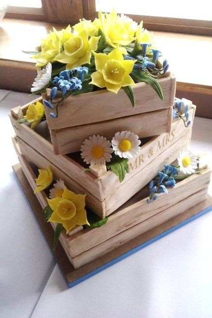 20 loveliest cakes in the world page 11 of 34 spring flowers cake mightylinksfo