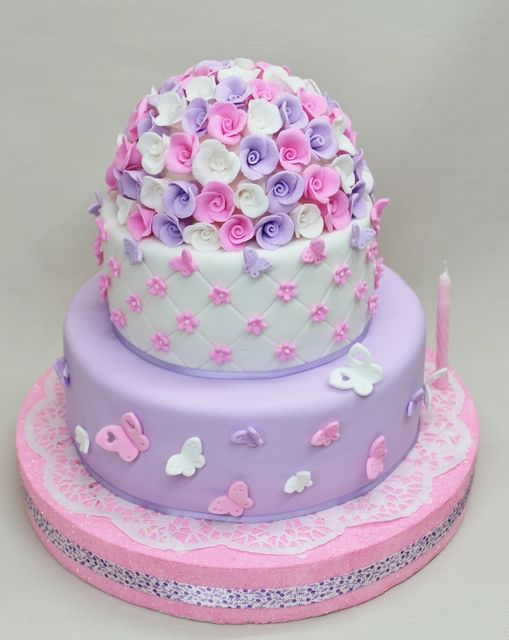 Elegant Butterfly Birthday Cake Image Inspiration of Cake and