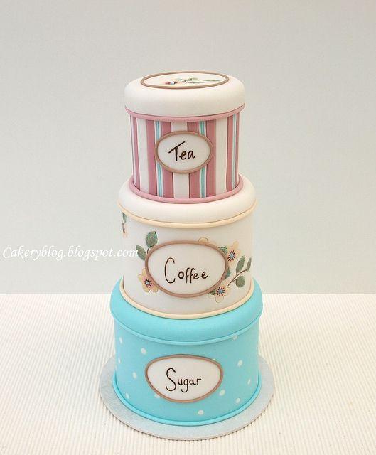Tea Coffee Sugar Cake