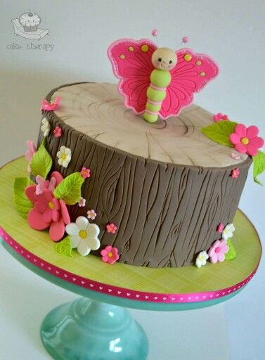 Woodland Butterfly Cake Amazing Cake Ideas