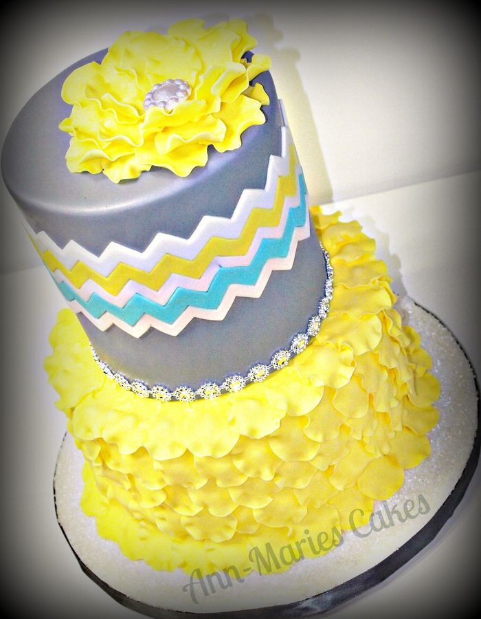 yellow cake design simple small house designyellow ruffled cake amazing cake ideasyellow ruffled cake