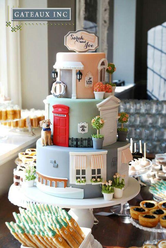 Amazing House Cake