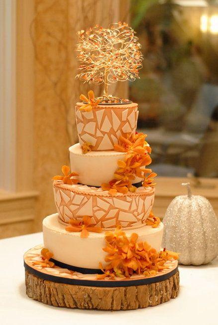Awesome fall wedding cake amazing cake ideas awesome fall wedding cake junglespirit Choice Image