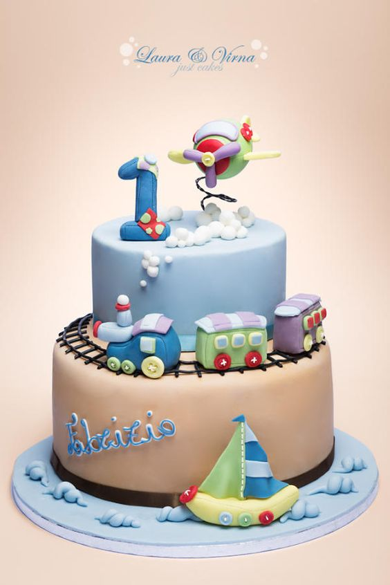 Birthday Cake Pictures For Baby Boy : Top 20+ Magnificent Cakes for Your Loving Kids - Page 4 of 39
