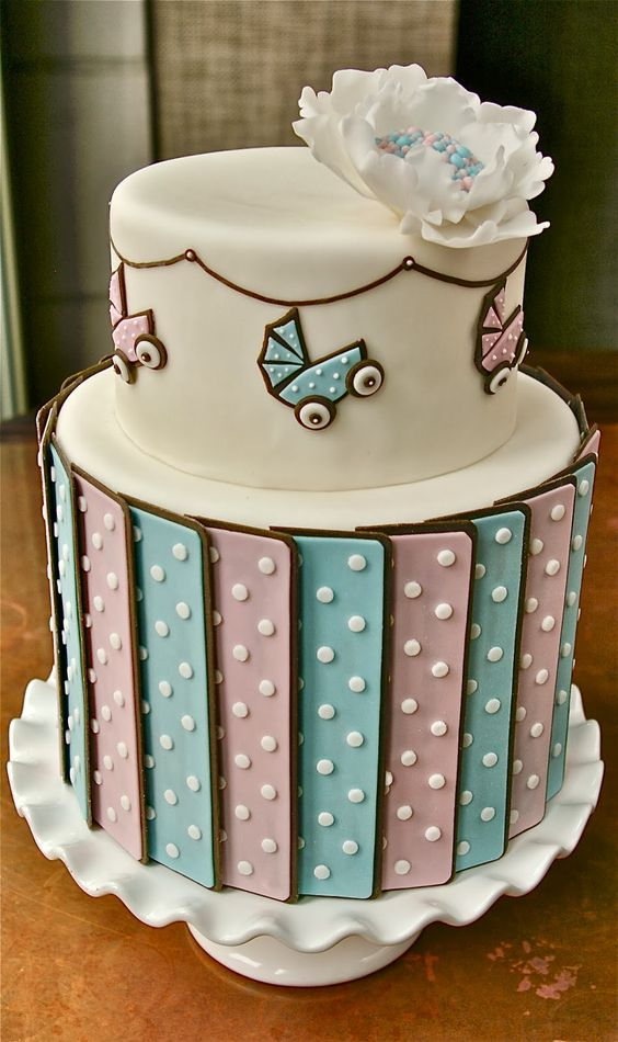 Unique Baby Shower Cakes Pictures