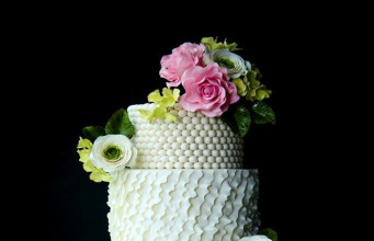 Beautiful Flower Cake