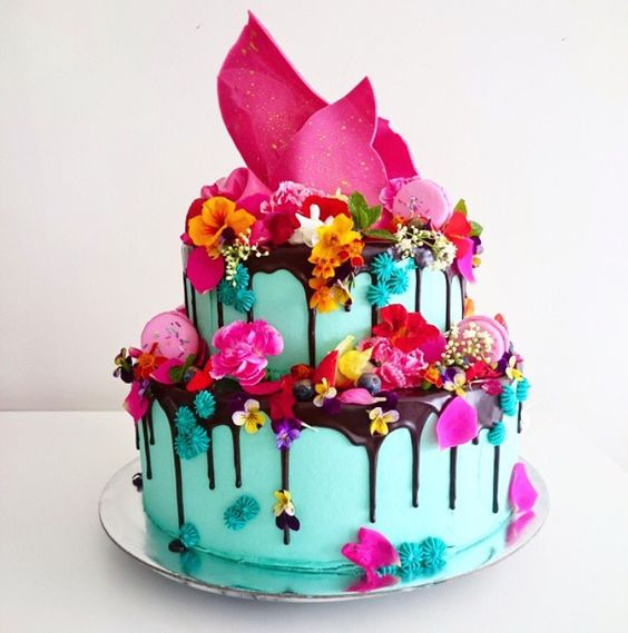 Superb Colorful Birthday Cake Amazing Cake Ideas Funny Birthday Cards Online Elaedamsfinfo