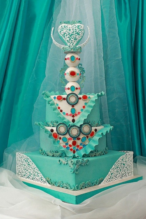 Engagement Wedding Cake