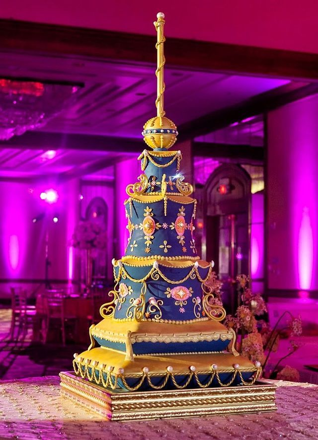 Lavish Tiered Cake