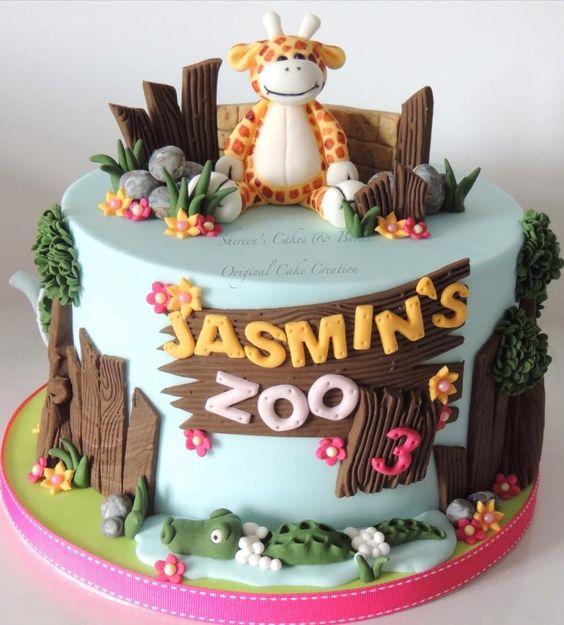 Little Zoo Cake Amazing Cake Ideas
