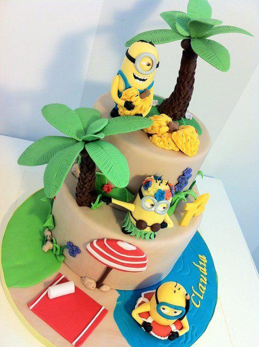 Minion Hawaiian Cake Amazing Cake Ideas