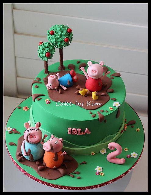 Stupendous Peppa Pig Cake Amazing Cake Ideas Birthday Cards Printable Inklcafe Filternl