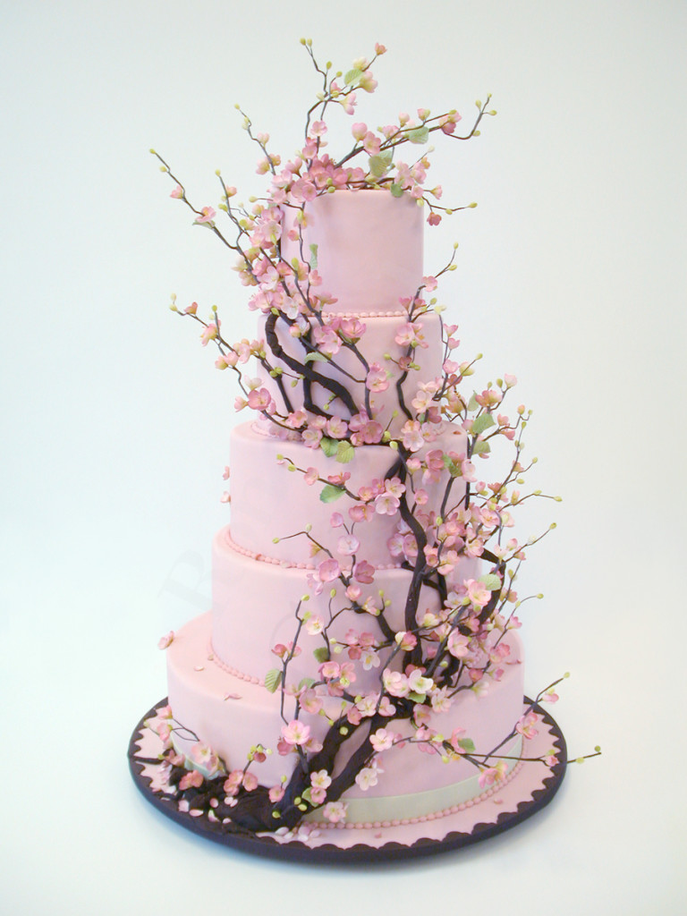 Pink Forest Cake