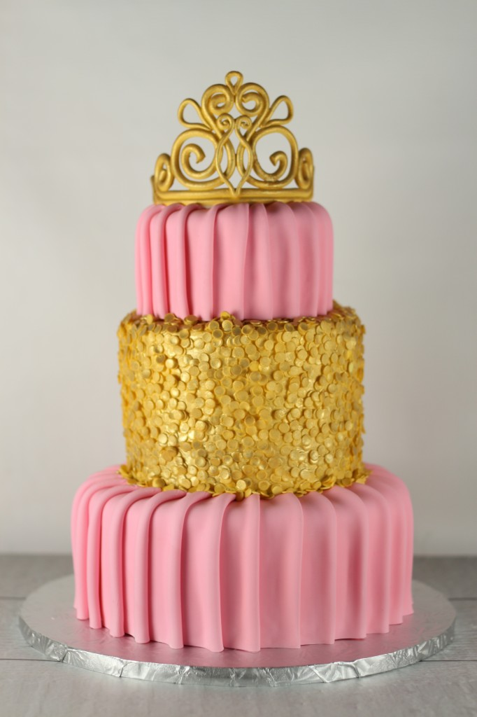 Princess Sequin Cake Amazing Cake Ideas