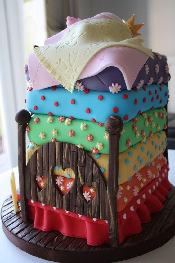 Princess and the Pea Fairy Tale Cake