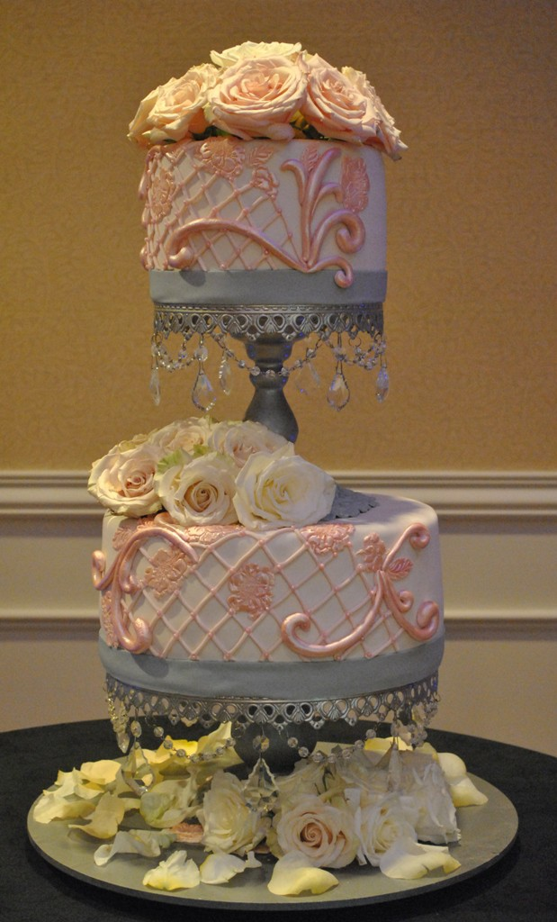 Rose Vintage Cake
