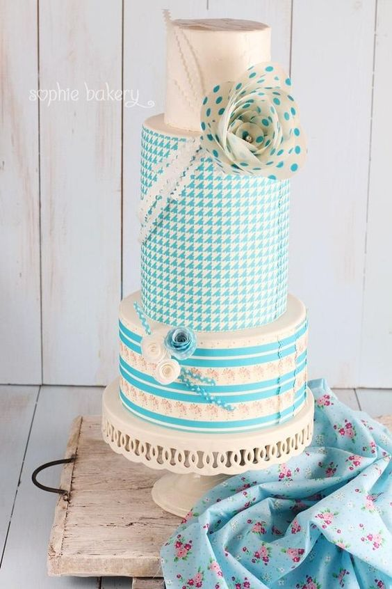 Sky Blue Cake Images : 20+ Mind-Blowing Cake Designs - Page 2 of 37