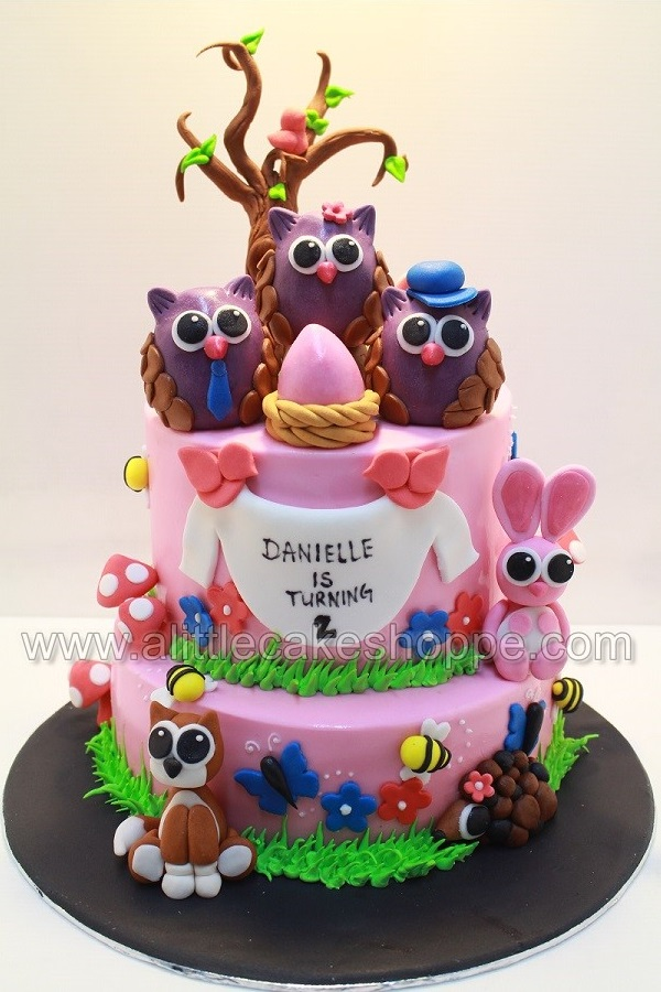 Cool 3D Owl Cake Amazing Cake Ideas Funny Birthday Cards Online Alyptdamsfinfo