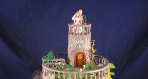 Castle Wedding Cake! So beautiful!