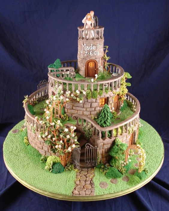 Top 20 Super Magnificent And Well Designed Cakes Page 15