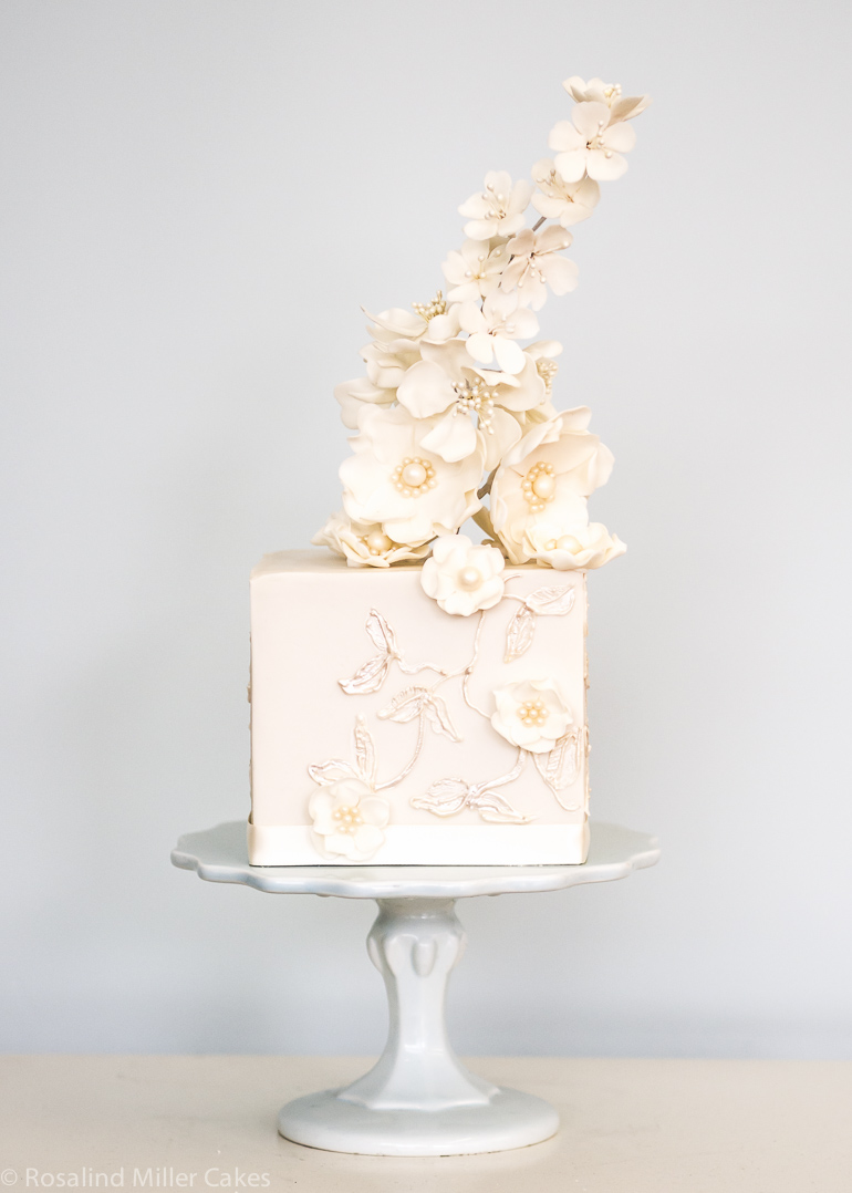 Champagne Open Roses - Amazing Cake Ideas