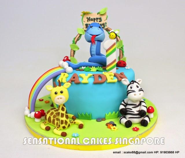 Strange Cute Snake Cake Amazing Cake Ideas Funny Birthday Cards Online Amentibdeldamsfinfo