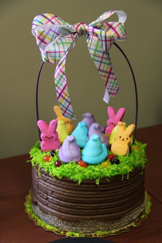 Easter basket cake amazing cake ideas easter basket cake negle Gallery