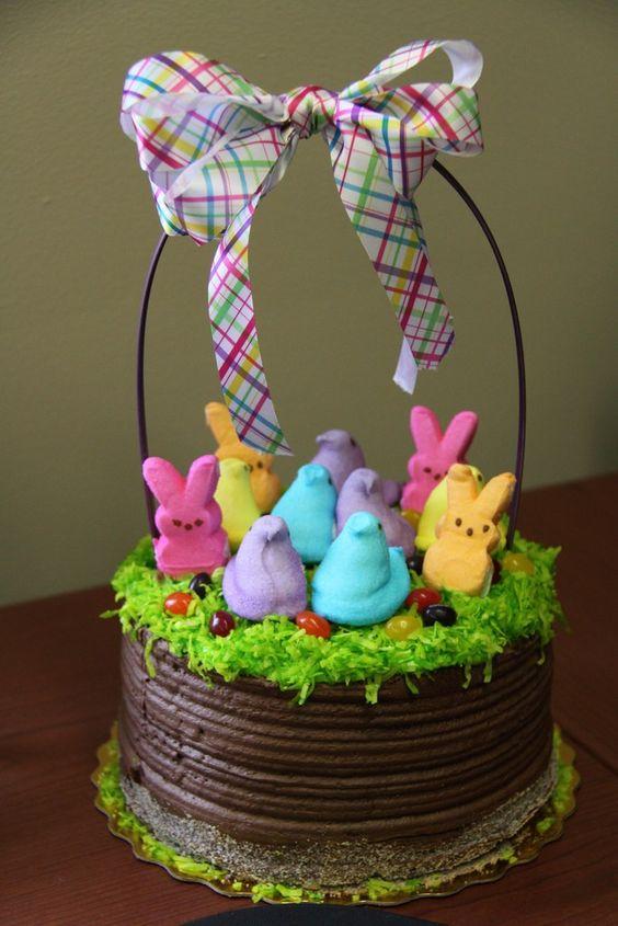 Easter basket cake amazing cake ideas easter basket cake negle Gallery