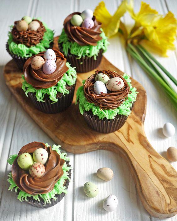 Easter Chocolate Mini Cake