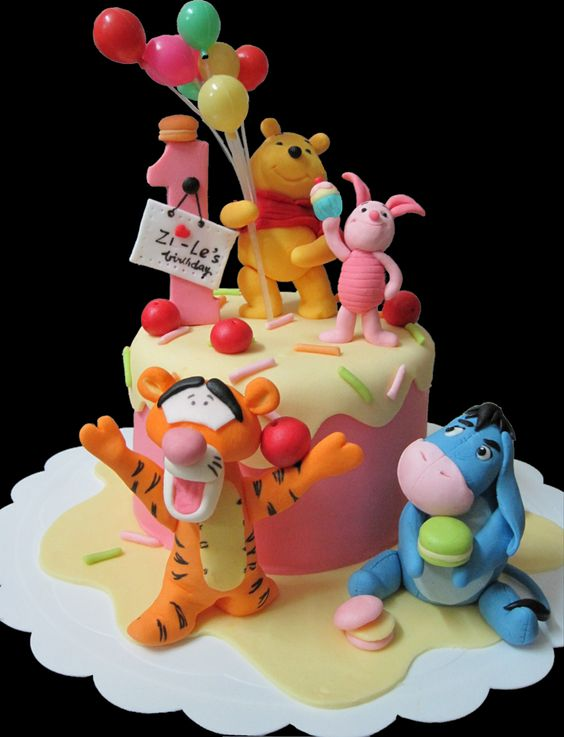 Terrific Eeyore And Piglet Birthday Cake Amazing Cake Ideas Funny Birthday Cards Online Alyptdamsfinfo