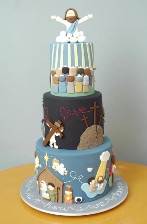 Life of Jesus Cake