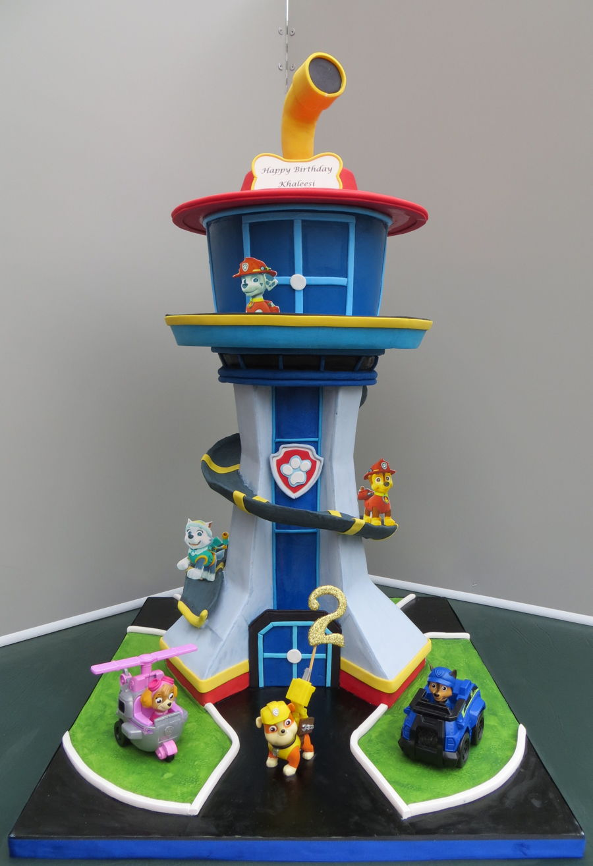 Tower Birthday Cake