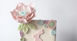 Quilled Easter Cake by Kylie Marks