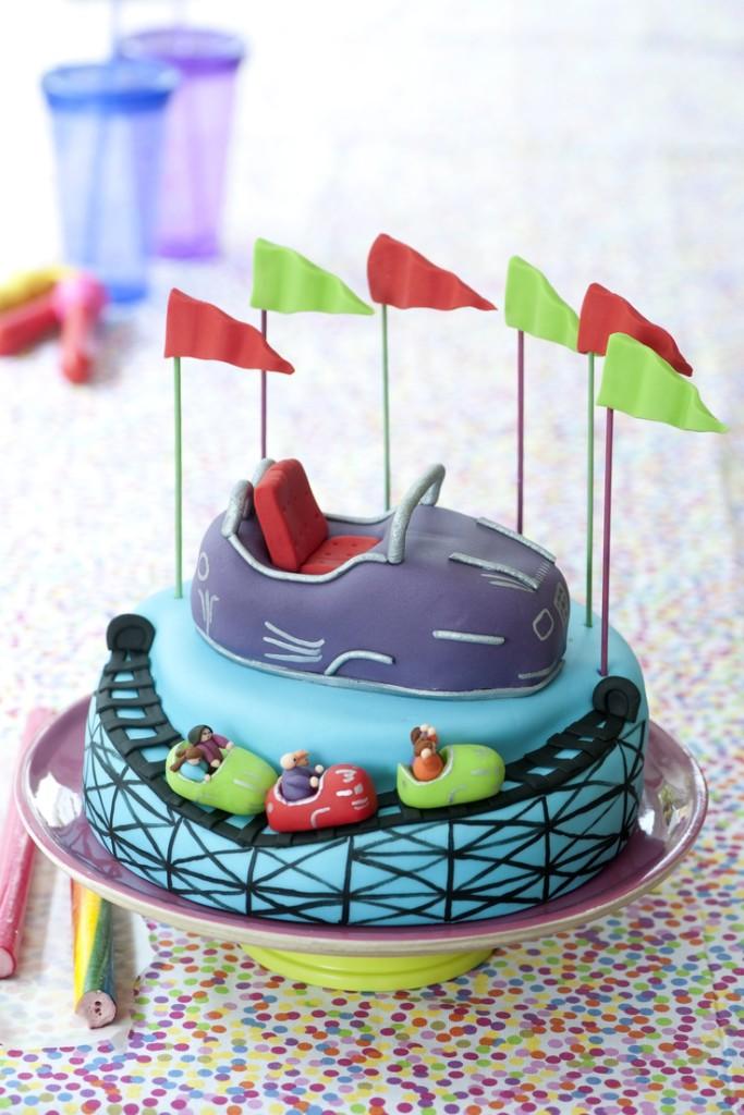 Roller Coaster Cake Decorations