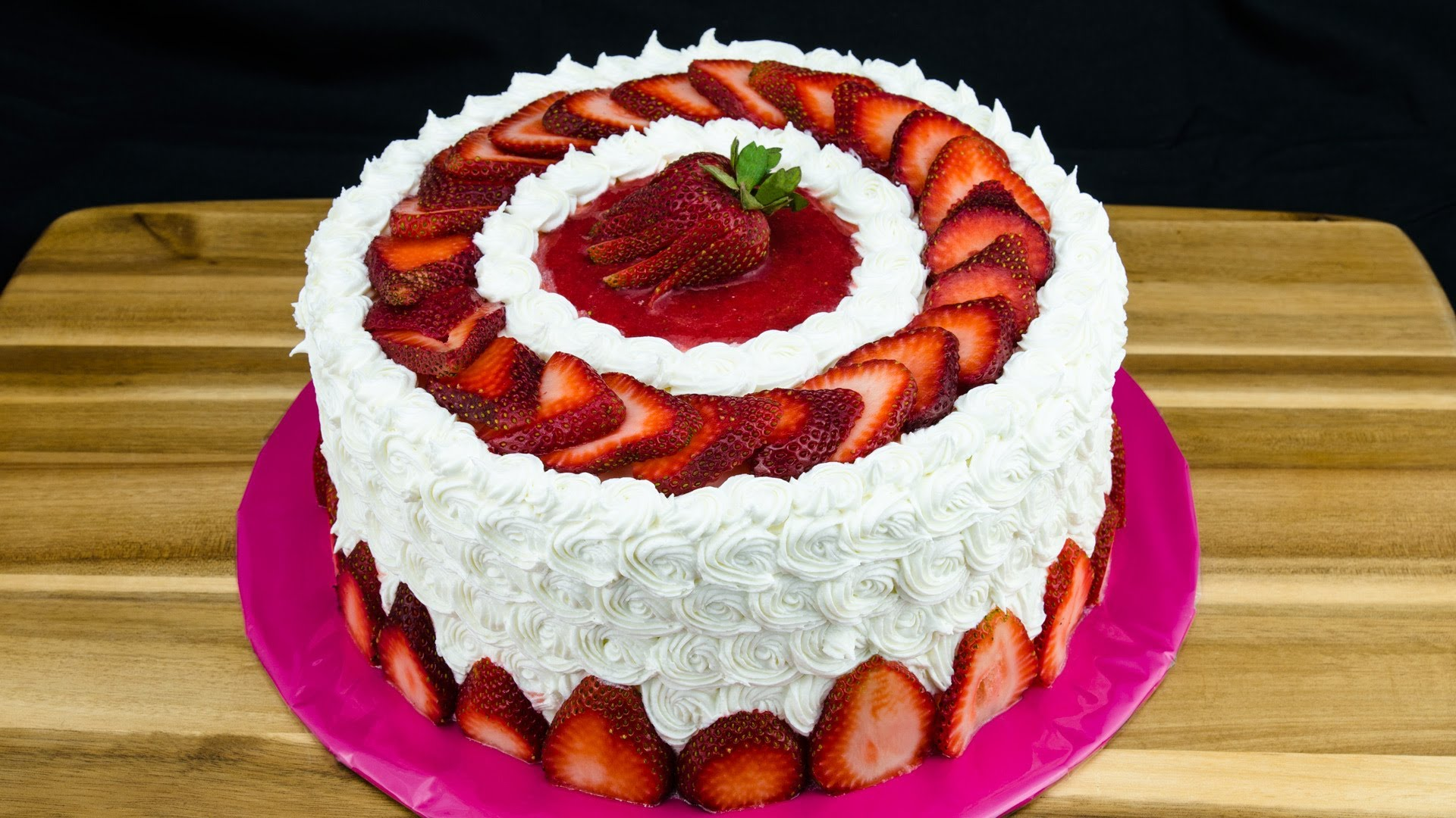 Strawberry Sweetness Cake Amazing Cake Ideas
