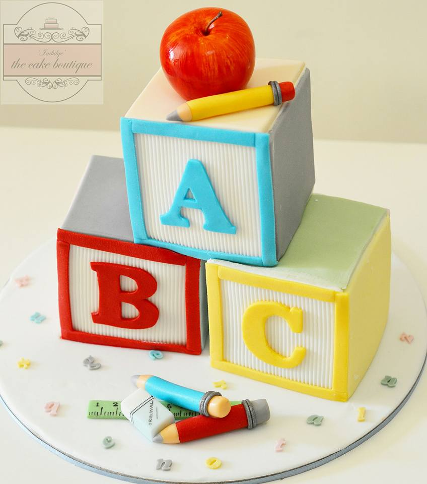 ABC Cake by Indulge' the cake boutique, baked by Reema Siraj