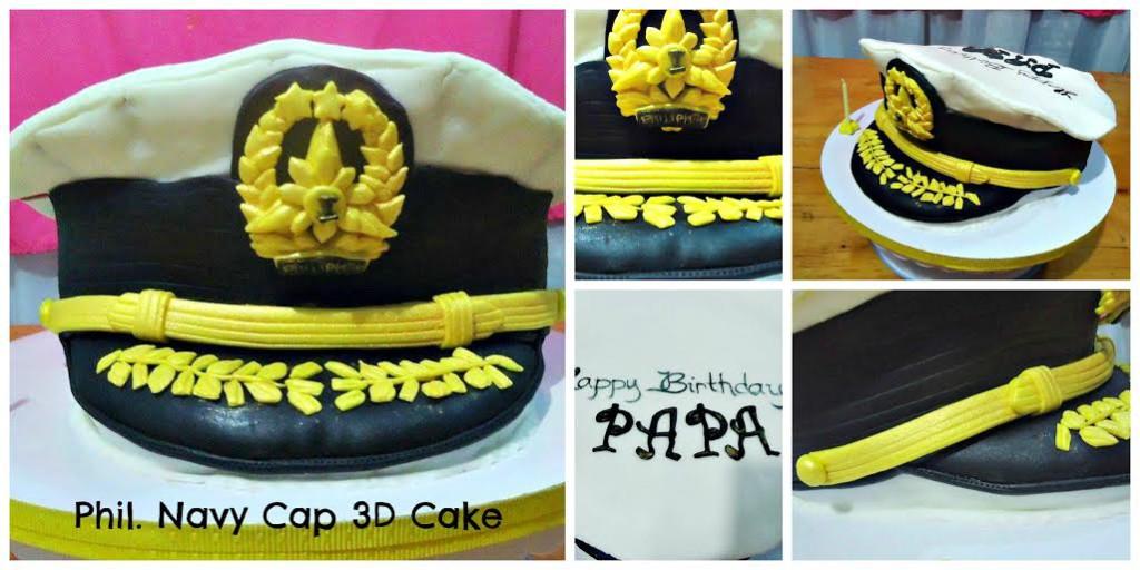 Alexandrea Abrera Navy Cap's Cake