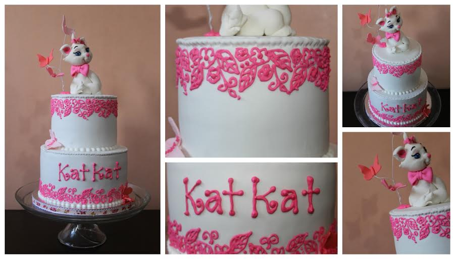 Alexandrea Abrera's Kitty Cake