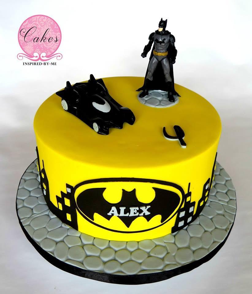 Aneesa Fredericksburg's Batman Cake