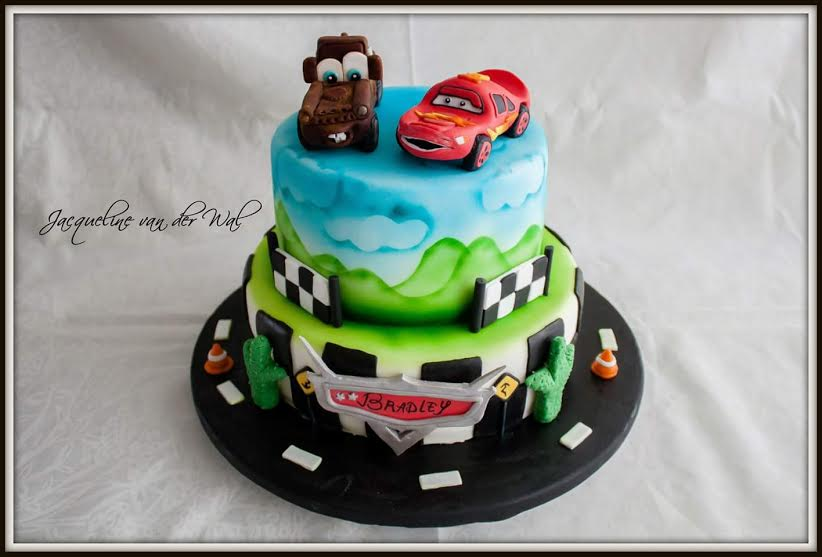 Cars Cake by Jacqueline Van Der Wal