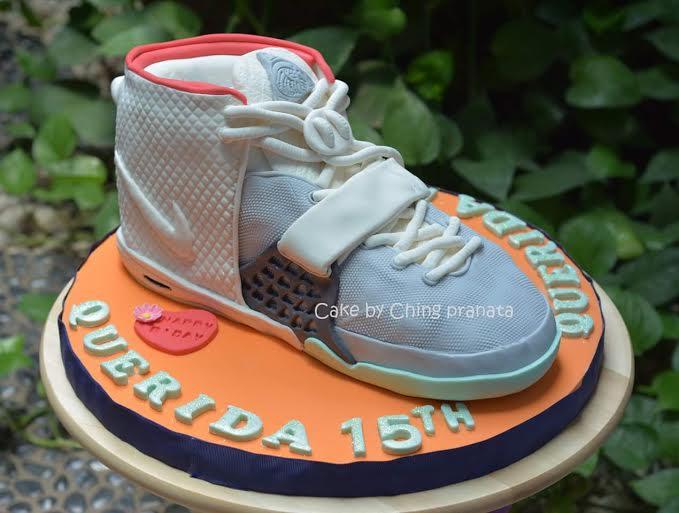 Ching Pranata Shoe Cake