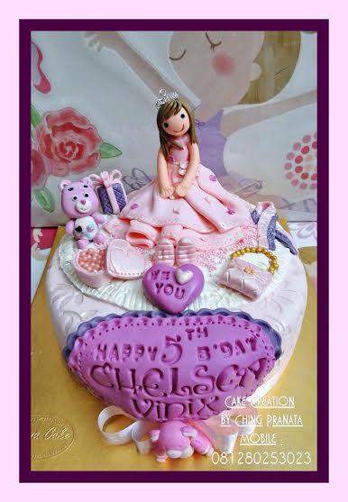 Ching Pranata's Pretty Cake