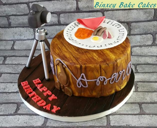 Claire Tillett's Birthday Cake