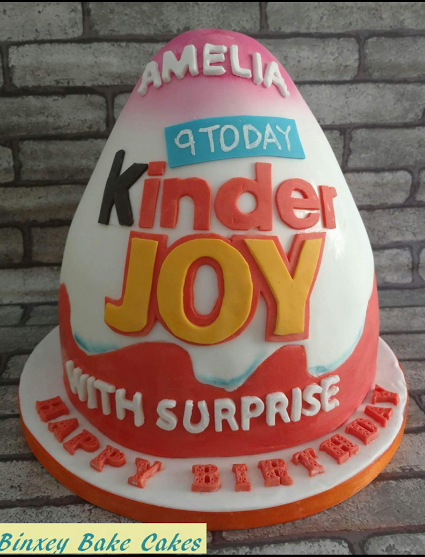Claire Tillett's Kinder Joy Cake