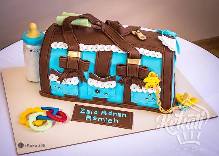 Duaa Khaiti Baby Kit's Cake