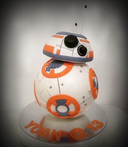 Elline Magsino's BB8 Cake