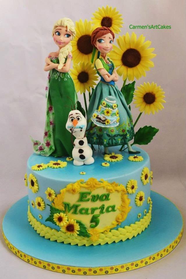 Frozen Fever Cake