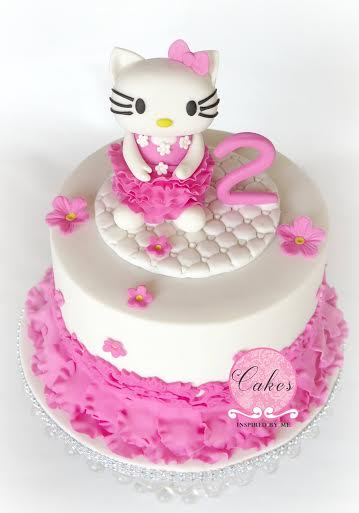 Hello Kitty Cake by Aneesa Fredericksburg