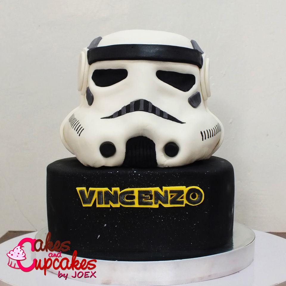 Jo Villanueva's Star Wars Cake